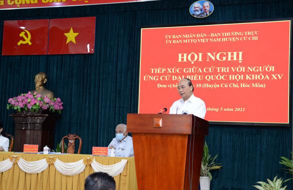 Chủ tịch nước Nguyễn Xuân Phúc: TP.HCM phát triển thành hình mẫu thì không thể để Củ Chi lạc hậu - Ảnh 2.