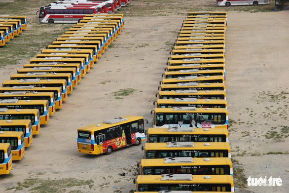 Xe buýt trợ giá Đà Nẵng tạm dừng lăn bánh từ ngày mai 10-5 - Ảnh 1.