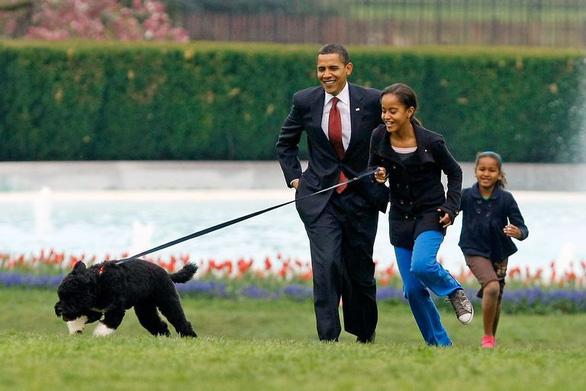 Gia đình Obama vĩnh biệt cún cưng bị ung thư - Ảnh 2.