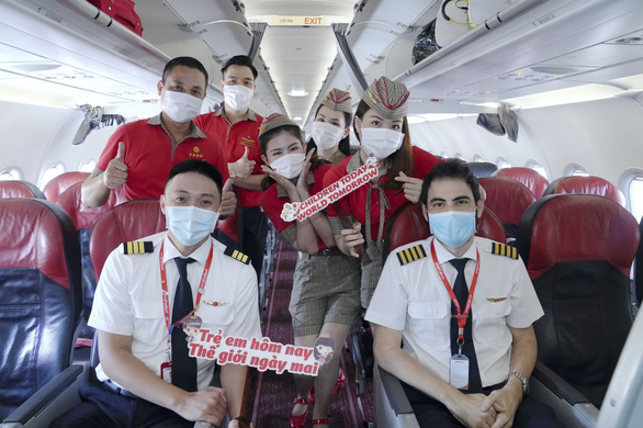 Vietjet lan toả niềm vui bằng hoạt động đặc biệt nhân ngày Quốc tế Thiếu nhi - Ảnh 6.