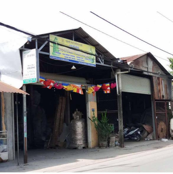 Lò đúc đồng gây ô nhiễm trong khu dân cư ở Huế - Ảnh 3.
