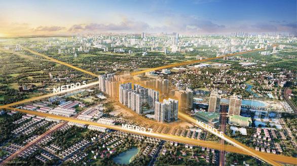 Ra mắt dự án The Metrolines tại Vinhomes Smart City - Ảnh 1.