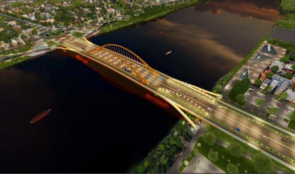 Thừa Thiên Huế công bố giải nhất thiết kế cầu vượt sông Hương - Ảnh 1.