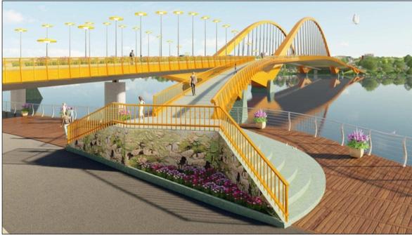 Thừa Thiên Huế công bố giải nhất thiết kế cầu vượt sông Hương - Ảnh 2.