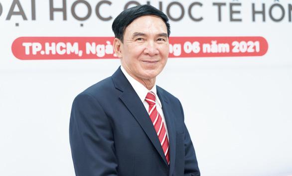 GS.TS Phạm Văn Lình làm hiệu trưởng Đại học Quốc tế Hồng Bàng - Ảnh 1.