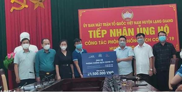 Quỹ Hành trình xanh và NCB ủng hộ gần 2 tỉ đồng hỗ trợ Bắc Giang và Bắc Ninh - Ảnh 2.