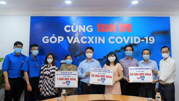 Cả xã hội cùng góp sức cho quỹ vắc xin - Ảnh 1.