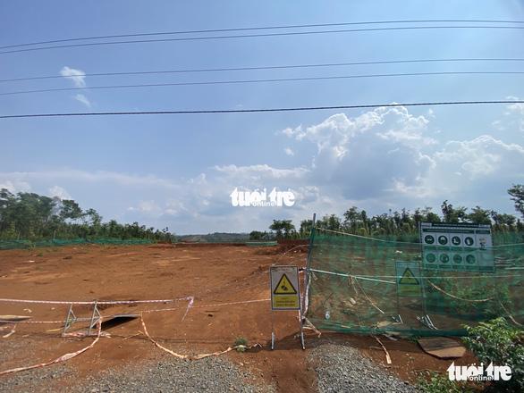 Xảy ra xô xát khi người dân ngăn thi công tại dự án điện gió Đắk N'Drung 1 - Ảnh 1.