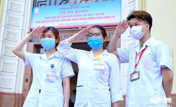 1.000 sinh viên y khoa TP.HCM tình nguyện tham gia chống dịch COVID-19 - Ảnh 2.