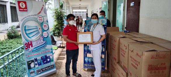 Vĩnh Tiến hỗ trợ 1 triệu khẩu trang kháng khuẩn cao cấp chống dịch - Ảnh 1.