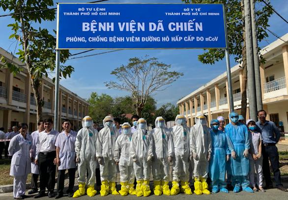 TP.HCM khảo sát xây dựng bệnh viện dã chiến 1.000 giường ở Nhà thi đấu Phú Thọ - Ảnh 1.