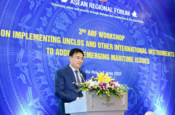 Việt Nam tổ chức hội thảo bàn về hiến pháp của đại dương - Ảnh 1.
