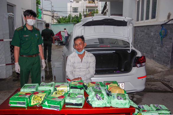 Bắt đối tượng chuyển 20kg ma túy từ Đồng Tháp lên TP.HCM - Ảnh 1.