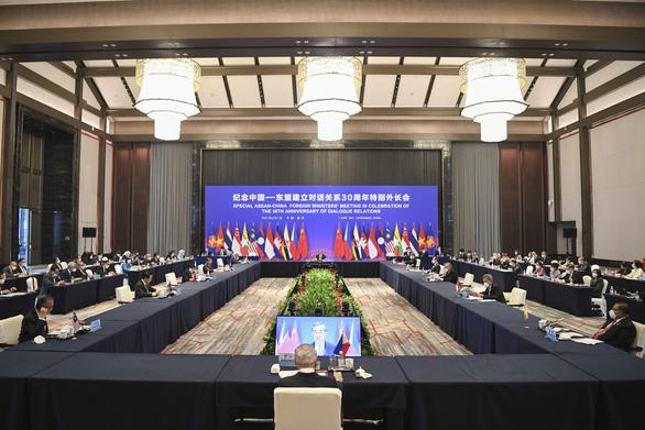 Bộ trưởng Bùi Thanh Sơn nói gì về kết quả Thượng đỉnh ASEAN - Trung Quốc? - Ảnh 1.