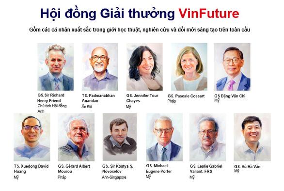 Giải thưởng VinFuture thu hút nhiều nhà khoa học hàng đầu thế giới tham gia - Ảnh 1.