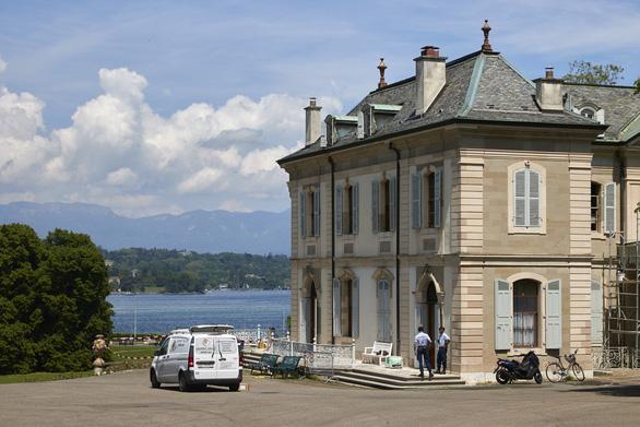 Biệt thự cổ ven hồ ở Geneva là điểm hẹn của Thượng đỉnh Biden - Putin - Ảnh 1.
