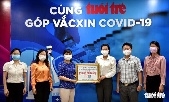 Từ viện dưỡng lão vẫn nhờ Hội phụ nữ gửi 500.000 đồng ủng hộ Quỹ vắc xin COVID-19 - Ảnh 1.