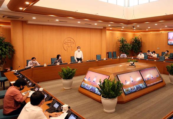 Chủ tịch Hà Nội: Đảm bảo an toàn kỳ thi lớp 10 như bầu cử vừa qua - Ảnh 1.