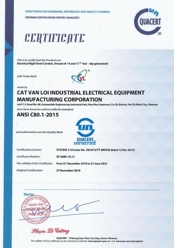 Ống luồn dây điện CVL - 14 năm tạo dựng thương hiệu và chất lượng - Ảnh 2.