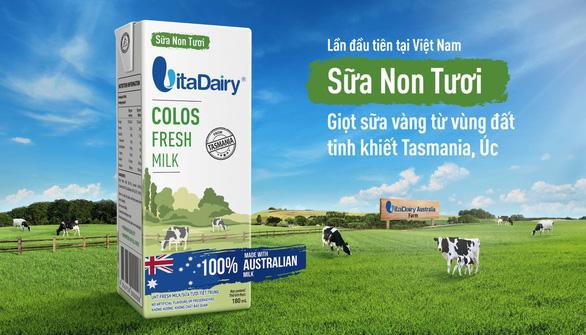 Sữa non tươi nhập khẩu 100% từ Tasmania - Úc - Ảnh 1.