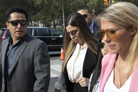 Vợ của trùm ma túy El Chapo nhận tội - Ảnh 1.