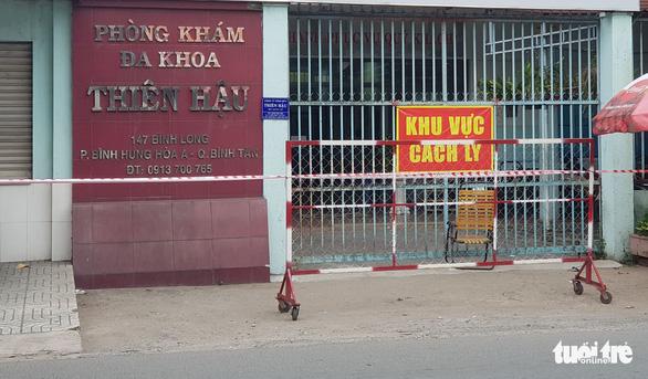 Phát hiện 2 vợ chồng ở Tân Phú mắc COVID-19, từng đi khám ở Bình Tân - Ảnh 1.