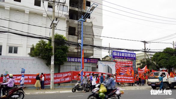 Công an tìm người mua căn hộ tòa nhà Sơn Thịnh 3 ở Vũng Tàu - Ảnh 1.