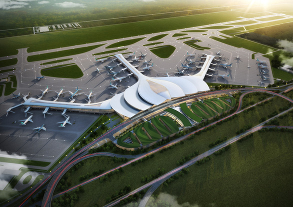 Xin vay bằng ngoại tệ để làm sân bay Long Thành - Ảnh 1.