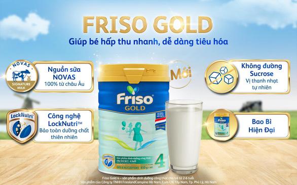Bồi dưỡng bé tiêu hóa khỏe với Friso Gold mới 100% dinh dưỡng châu Âu - Ảnh 1.