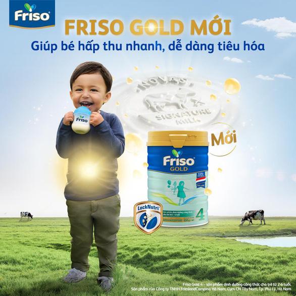 Bồi dưỡng bé tiêu hóa khỏe với Friso Gold mới 100% dinh dưỡng châu Âu - Ảnh 5.