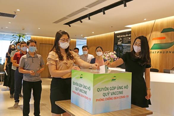 Đạt Phương góp 1 tỉ đồng cho Quỹ vắc xin phòng chống dịch COVID-19 - Ảnh 1.