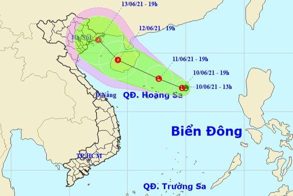 Áp thấp biển bắc nhưng gây mưa cho miền Trung - Nam - Ảnh 1.