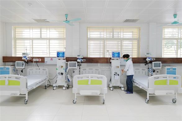 Đưa vào hoạt động Trung tâm ICU điều trị bệnh nhân COVID-19 nặng tại Bắc Ninh - Ảnh 2.