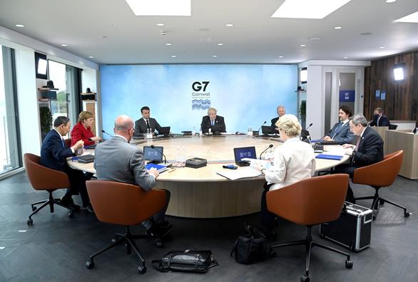 G7 và tham vọng tái định hình thế giới - Ảnh 1.