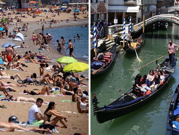 Khách ùn ùn trở lại, mùa du lịch hè ở châu Âu bắt đầu nóng lên - Ảnh 1.