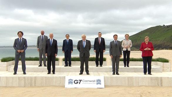 Các nhà lãnh đạo G7 cam kết: Chia sẻ với thế giới ít nhất 1 tỉ liều vắc xin - Ảnh 1.