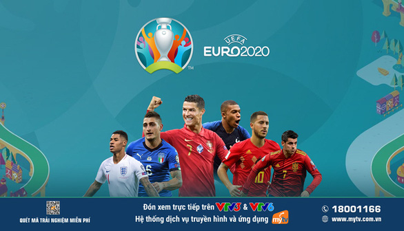 Cùng MyTV lăn theo trái bóng Uniforia của UEFA Euro 2020 - Ảnh 2.
