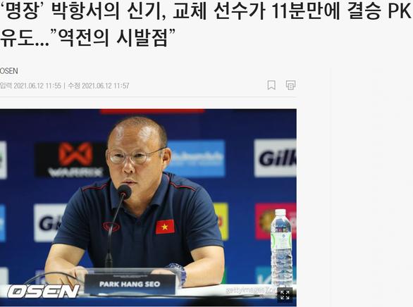 Báo Hàn: Ma thuật Park Hang Seo tái hiện, Việt Nam chờ câu chuyện thần thoại mới - Ảnh 1.