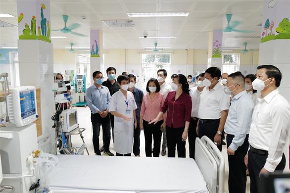 Đưa vào hoạt động Trung tâm ICU điều trị bệnh nhân COVID-19 nặng tại Bắc Ninh - Ảnh 1.