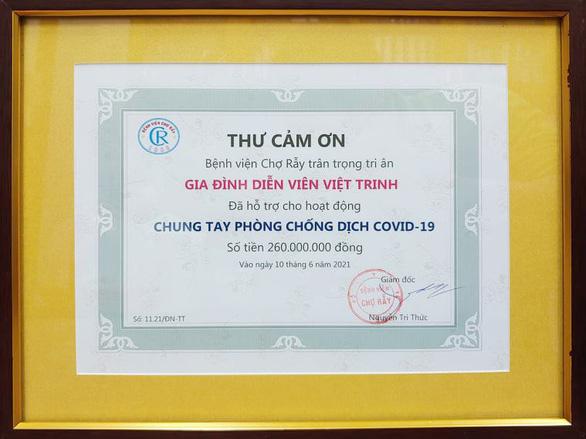 50 nghệ sĩ tham gia Sức mạnh Việt Nam, Việt Trinh ủng hộ Chợ Rẫy 260 triệu đồng - Ảnh 4.