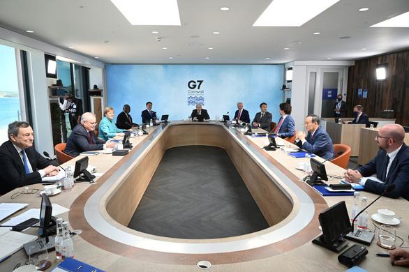 G7 đồng lòng hợp tác, cùng xử lý Trung Quốc bán phá giá - Ảnh 1.