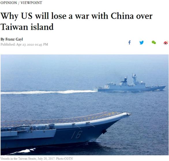 Thiếu tá Mỹ về hưu bị điều tra phản gián vì 2 bài viết trên báo Trung Quốc - Ảnh 1.