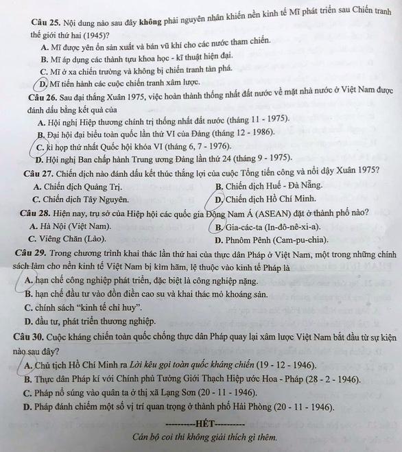 Đề sử thi vào lớp 10 Hà Nội - Ảnh 4.