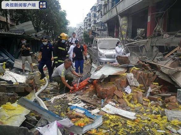 Nổ lớn ở Trung Quốc: 12 người chết, 138 người bị thương - Ảnh 1.