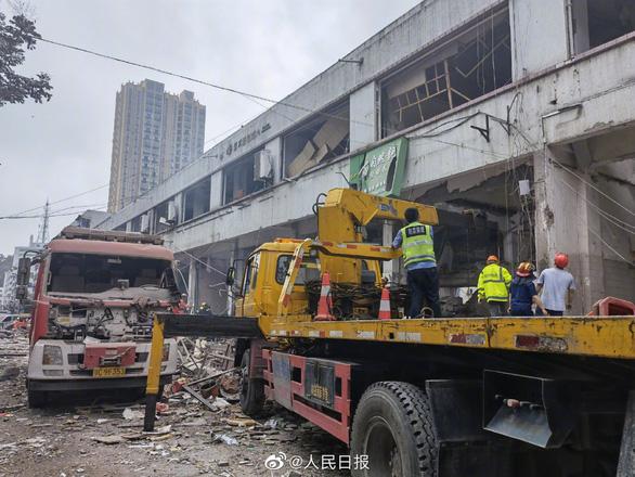 Nổ lớn ở Trung Quốc: 12 người chết, 138 người bị thương - Ảnh 3.