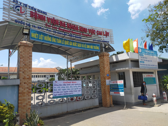 Tiền Giang giãn cách xã hội thị xã Cai Lậy và huyện Cái Bè theo chỉ thị 16 - Ảnh 1.