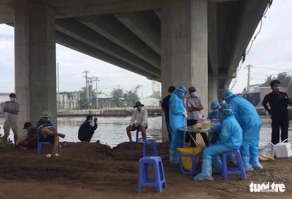 687 công nhân đường cao tốc Trung Lương - Mỹ Thuận âm tính - Ảnh 1.