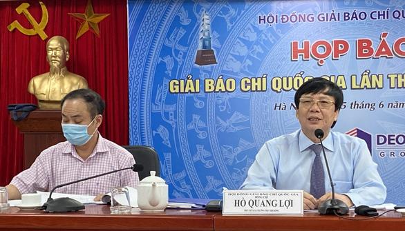 Phim tài liệu Việt Nam thời đại Hồ Chí Minh được trao giải đặc biệt Giải báo chí quốc gia - Ảnh 1.