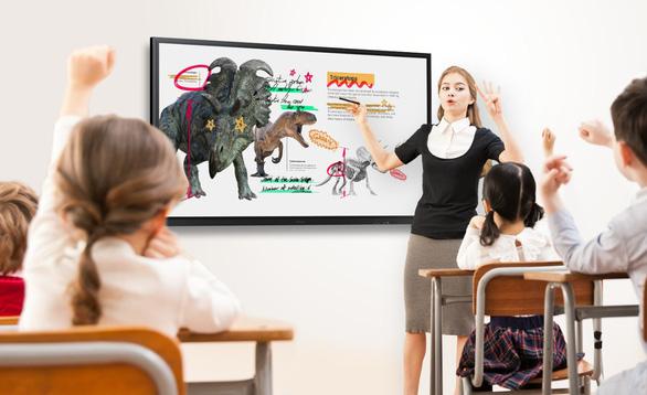 Samsung Flip 3 đáp ứng xu hướng ứng dụng công nghệ trong giáo dục - Ảnh 1.