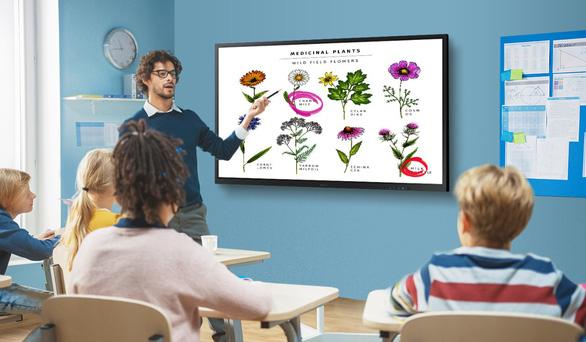 Samsung Flip 3 đáp ứng xu hướng ứng dụng công nghệ trong giáo dục - Ảnh 2.